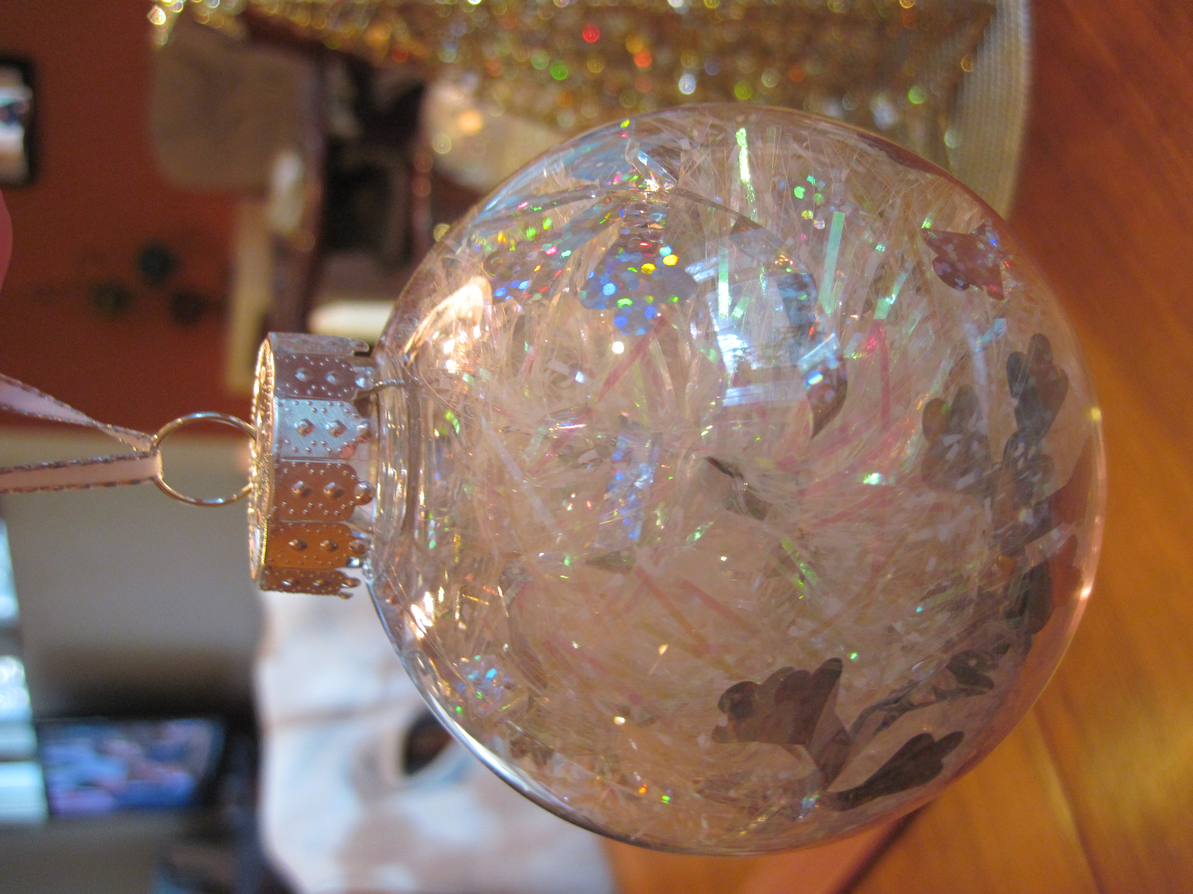 Clear plastic christmas ornament - Clear Christmas Bulbs For Crafting And On The Tree Literally The Crafting Time For That