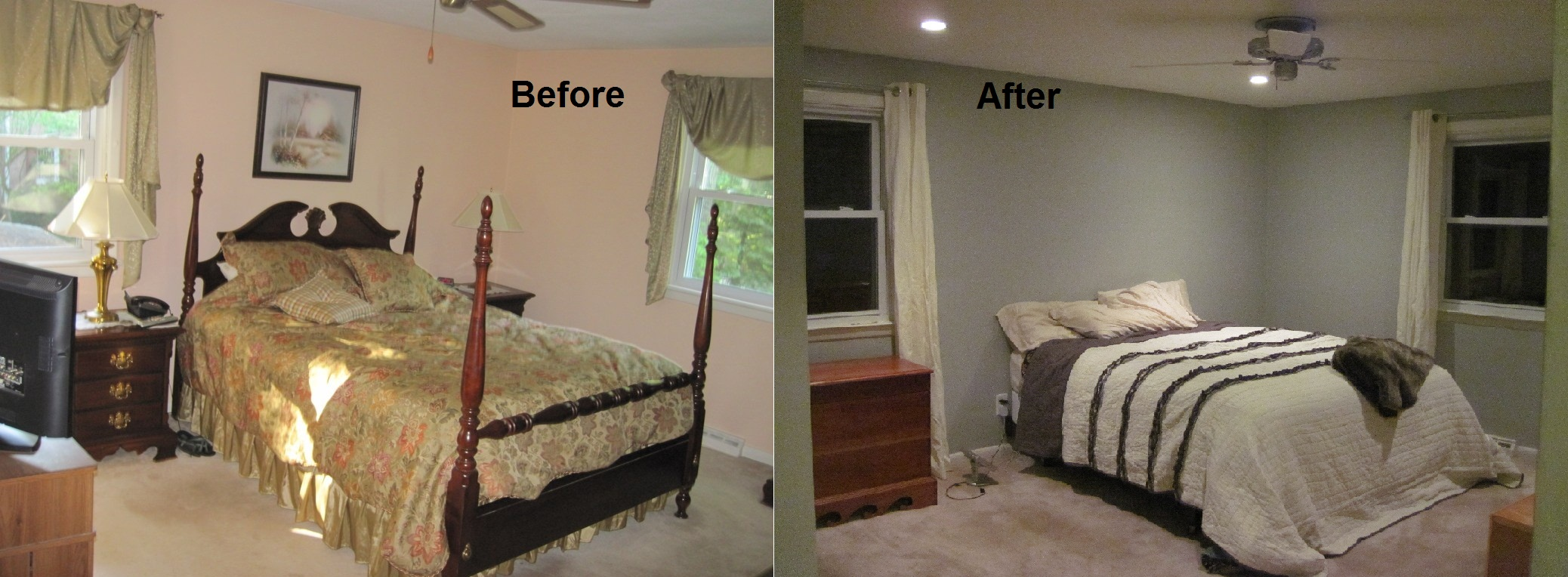 Master Bedroom: The ceiling is done! | Kristin & Krister's ...