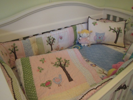 Kalliope's bedding