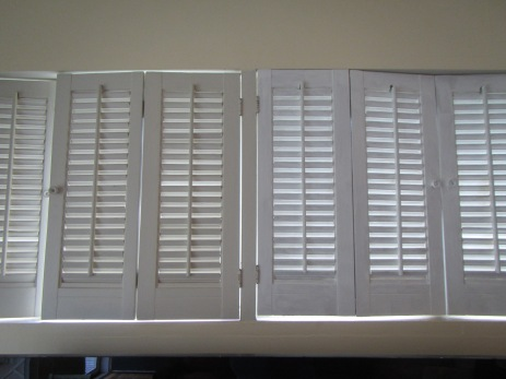 white on shutters